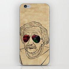 Albert wears his sunglasses at night iPhone & iPod Skin