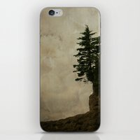 Living on the Edge iPhone & iPod Skin