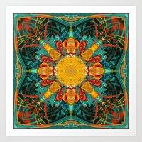 Mandala #3 Art Print