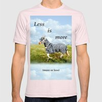 Horseshow Mens Fitted Tee Light Pink SMALL