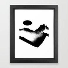 Impassable Framed Art Print
