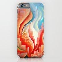 Hibiscus City iPhone 6 Slim Case