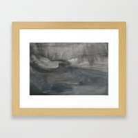 Storm at Sea Framed Art Print