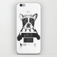Winter Is Boring iPhone & iPod Skin