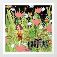 LOOTERS Art Print