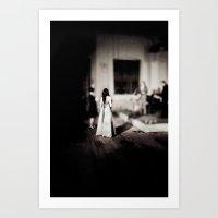 Miniature bride Art Print
