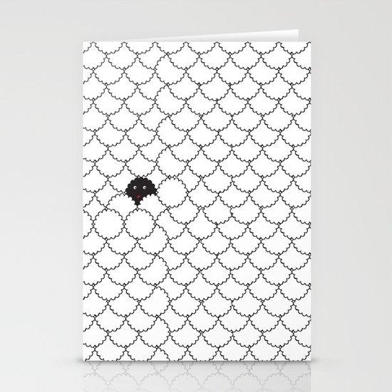 black sheep Stationery Card