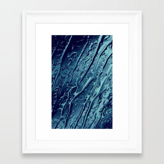After Rain (water surface) Framed Art Print