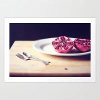 pomegranate Art Print