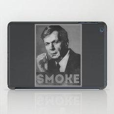 Smoke! Funny Obama Hope Parody (Smoking Man)  iPad Case