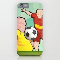 Soccer Game iPhone 6 Slim Case