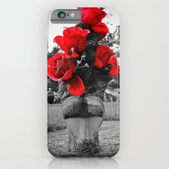 Red is permanence  iPhone & iPod Case