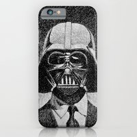 iPhone & iPod Case featuring Darth Vader portrait #2 by Nicolas Jolly