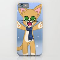 Happy Cat Winter style iPhone 6 Slim Case