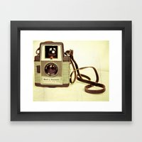 It's An Old Thing Framed Art Print