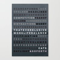 An Artist's Life Canvas Print