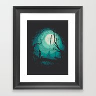 After Cosmic War Framed Art Print