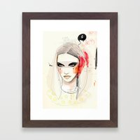 I got to be insane Framed Art Print