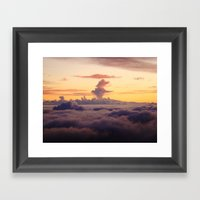 HALEAKALA'S CLOUDS Framed Art Print