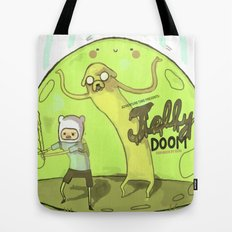 Jelly Doom Adventure Time Tote Bag