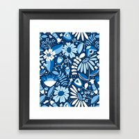Annabelle - Blues Framed Art Print
