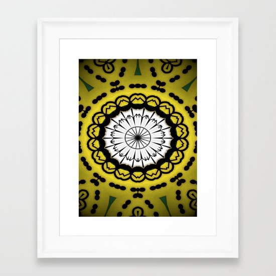 Design Patterns Framed Art Print