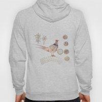Decorative pheasant Hoody