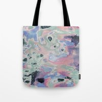Plastic Pastel Nature Tote Bag