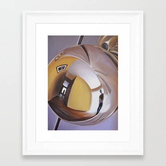 Doorknob #2 Framed Art Print