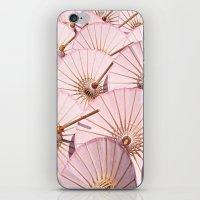 Umbrellas iPhone & iPod Skin