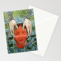 Death Mask Stationery Cards