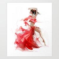 dancer1 Art Print