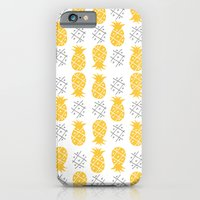 iPhone & iPod Case featuring Pineapple by curious creatures