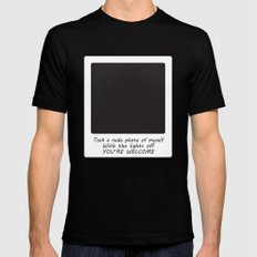 Nude Photo SMALL Black Mens Fitted Tee