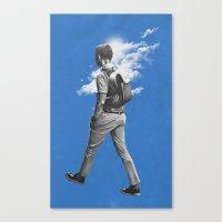 Stroll Canvas Print