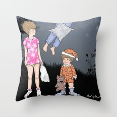 Insomniacs - Once upon a time out Throw Pillow
