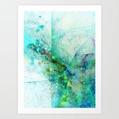 Silent Green Art Print