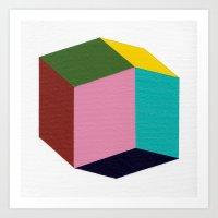 Rhombic Art Print