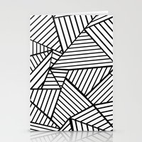 Abstraction Lines Close … Stationery Cards
