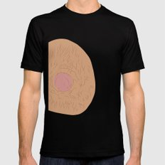Nipple Mens Fitted Tee Black SMALL