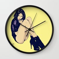 Legs and shoes Wall Clock