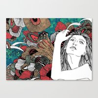 Water fairy [Fenu Paree] Canvas Print
