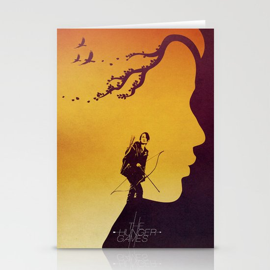 The Hunger Games Stationery Card