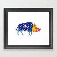 Fashion Animals, Spring … Framed Art Print