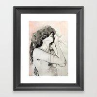 She Was Not An Impulsive… Framed Art Print