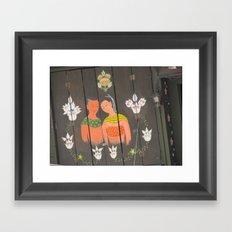 Lovers Framed Art Print