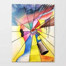 Overthink Canvas Print
