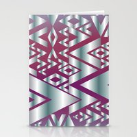 Metal Beat Stationery Cards