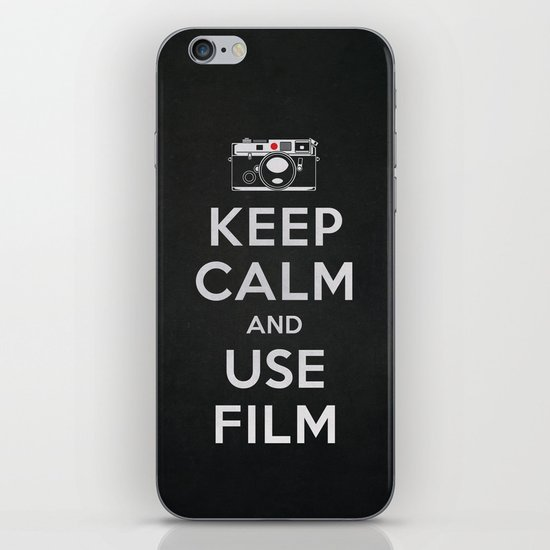 Keep Calm And Use Film iPhone & iPod Skin
