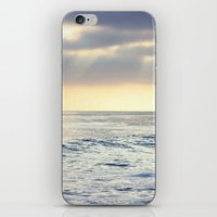 California Sunset over the Pacific Ocean iPhone & iPod Skin